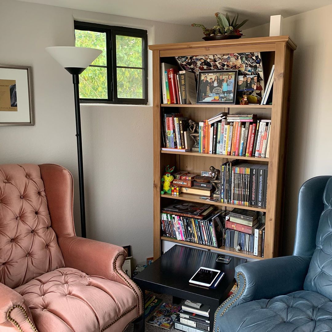 My reading area.